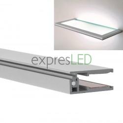 Hliníkový profil KRAV 8-10mm sklo, 25x13mm