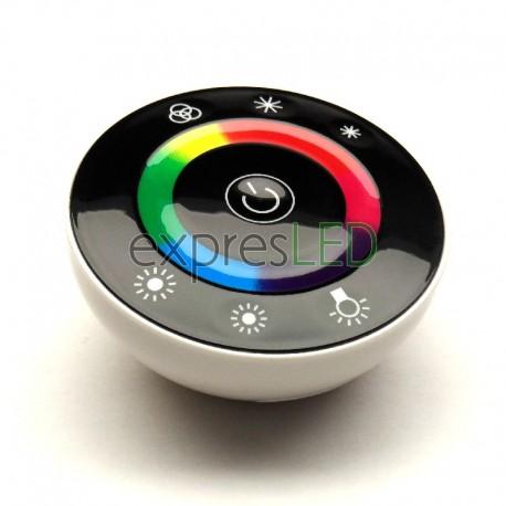 RF okrúhly ovládač RGB, čierny