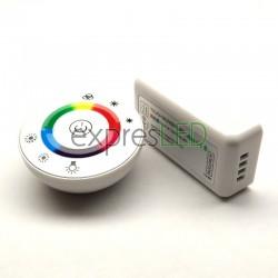 RF okrúhly ovládač RGB, biely