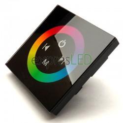 RGB ovládač na stenu, čierny