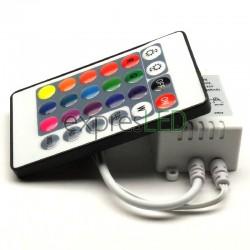 IR 24 tlačidlový ovládač RGB