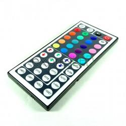 IR 44 tlačidlový ovládač RGB