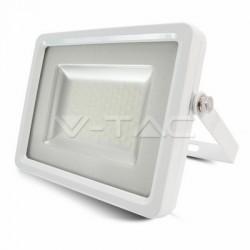 LED reflektor 100W, studená biela  (slim)