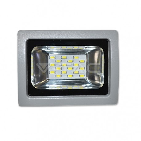 LED reflektor 10W, studená biela (slim)