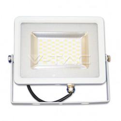LED reflektor 20W, studená biela (slim)
